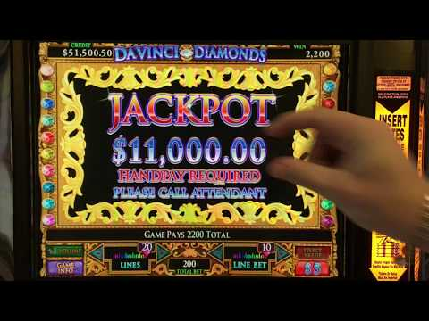 DaVinci Diamonds Play October Jackpots!