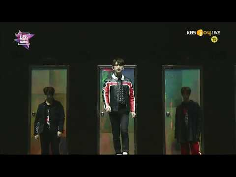 [HD] Got7 intro + You are at 27th Seoul Music Awards