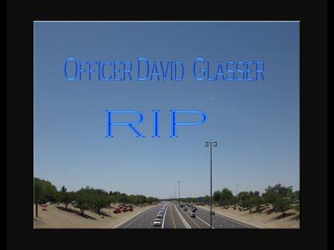 Officer David Glasser Funeral Procession