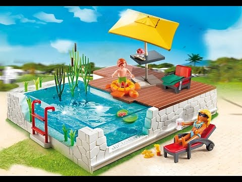 Piscine playmobil 2017 ref 5575 youtube for Piscine playmobil