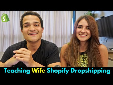 Full Shopify Tutorial For Beginners Featuring My Beautiful Wife | Shopify Dropshipping 2019/2020 thumbnail