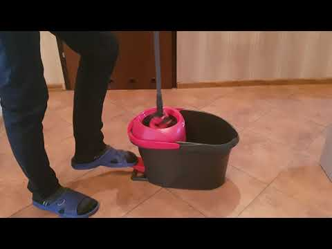 Repeat Vileda Easy Wring Clean Turbo Mop Obrotowy By