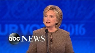 Hillary Clinton's Closing Statements: 'May the Force Be With You'