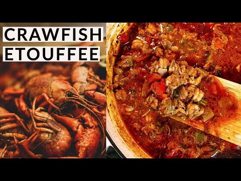 🦐Louisiana Crawfish Etouffee 🦐
