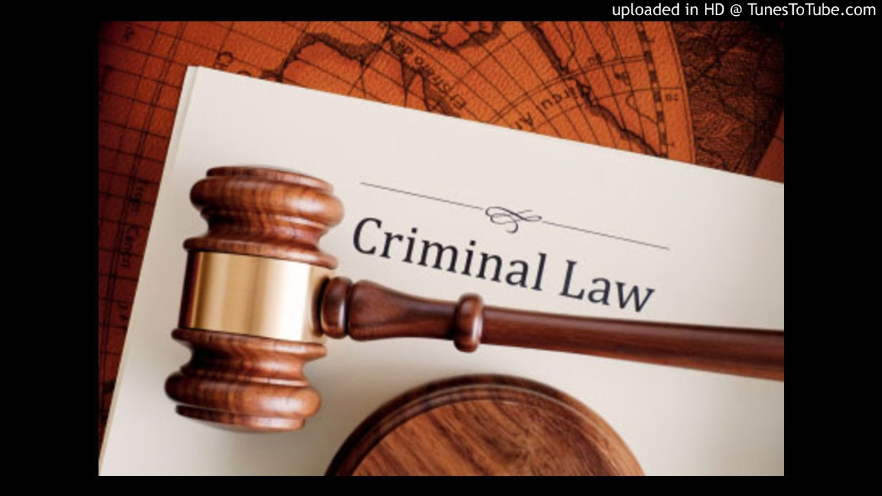 Crw 2602 Criminal Law Specific Crimes Unlawfulness Youtube
