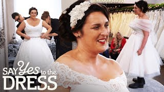 Farmer's Bride Wants to Wear Wellies on Her Big Day | Say Yes To The Dress Lancashire