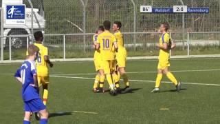 A-Junioren - FC Astoria Walldorf vs. FV Ravensburg 2-0 - Nicolas Wanitzek