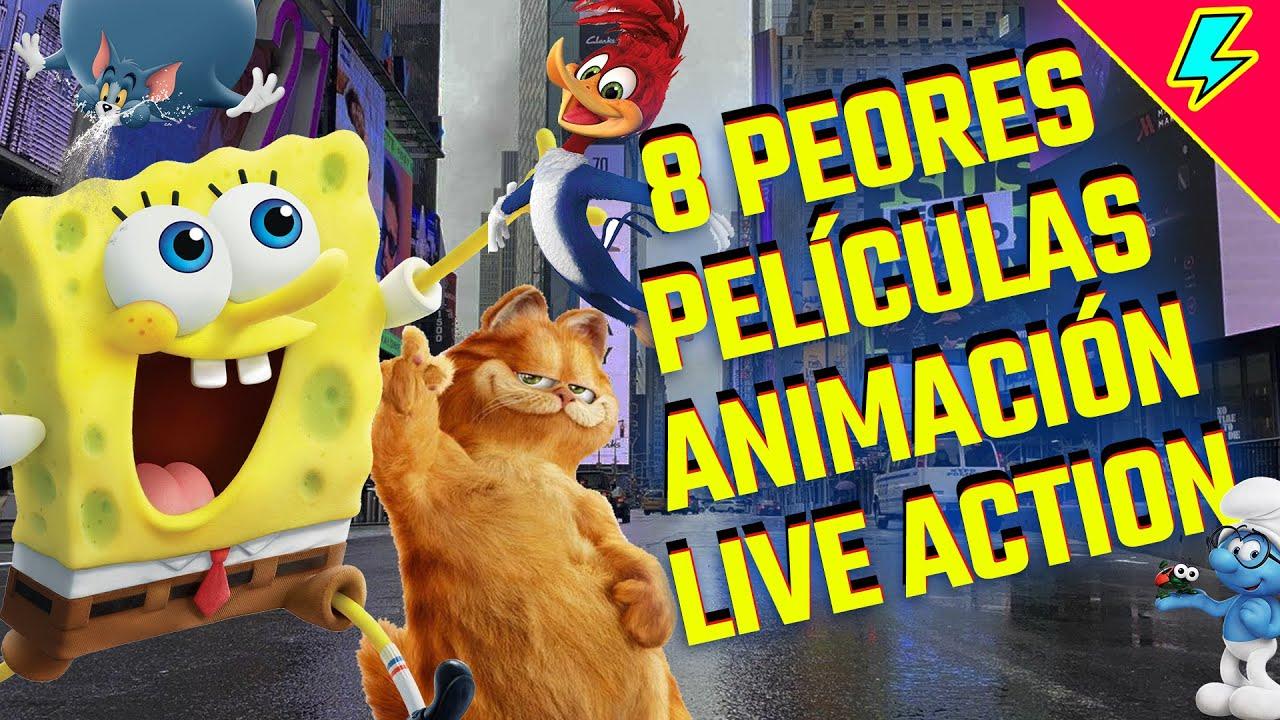 Download 8 películas malas que mezclan live action con animación
