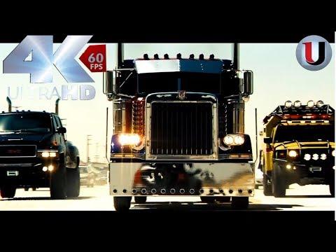 Transformers 2007 Final battle Part 1 Optimus Prime vs BoneCrusher Movie Clip (Full HD)