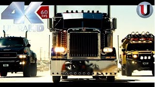 Transformers 2007 Final battle Part 1 Optimus Prime vs BoneCrusher Movie Clip (Full HD)