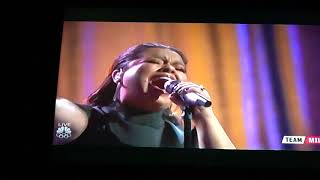 Brooke Simpson  - Performance Of   Journeys  Fathfuly. - The Voice , Dec 11, 2017.
