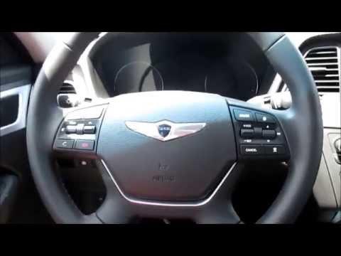 2015 Hyundai Genesis 5.0 Start Up, Exterior/ Interior Review