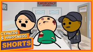 Emergency - Cyanide & Happiness Shorts
