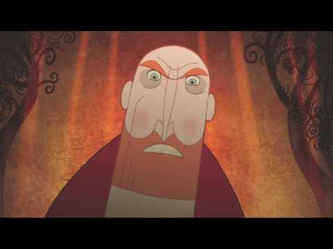 Abbot Warns of Vikings | The Secret Of Kells