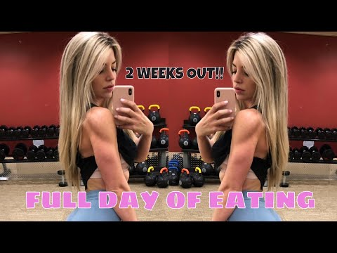 Full Day of Eating: 2 Weeks out