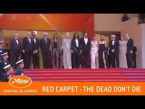 THE DEAD DON'T DIE - Red Carpet - Cannes 2019 - EV
