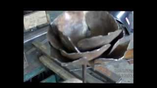 Роза сборно кованая(Технология сборки сборно-кованной розы.Толщина стали 1,8 мм., 2012-12-08T15:39:52.000Z)