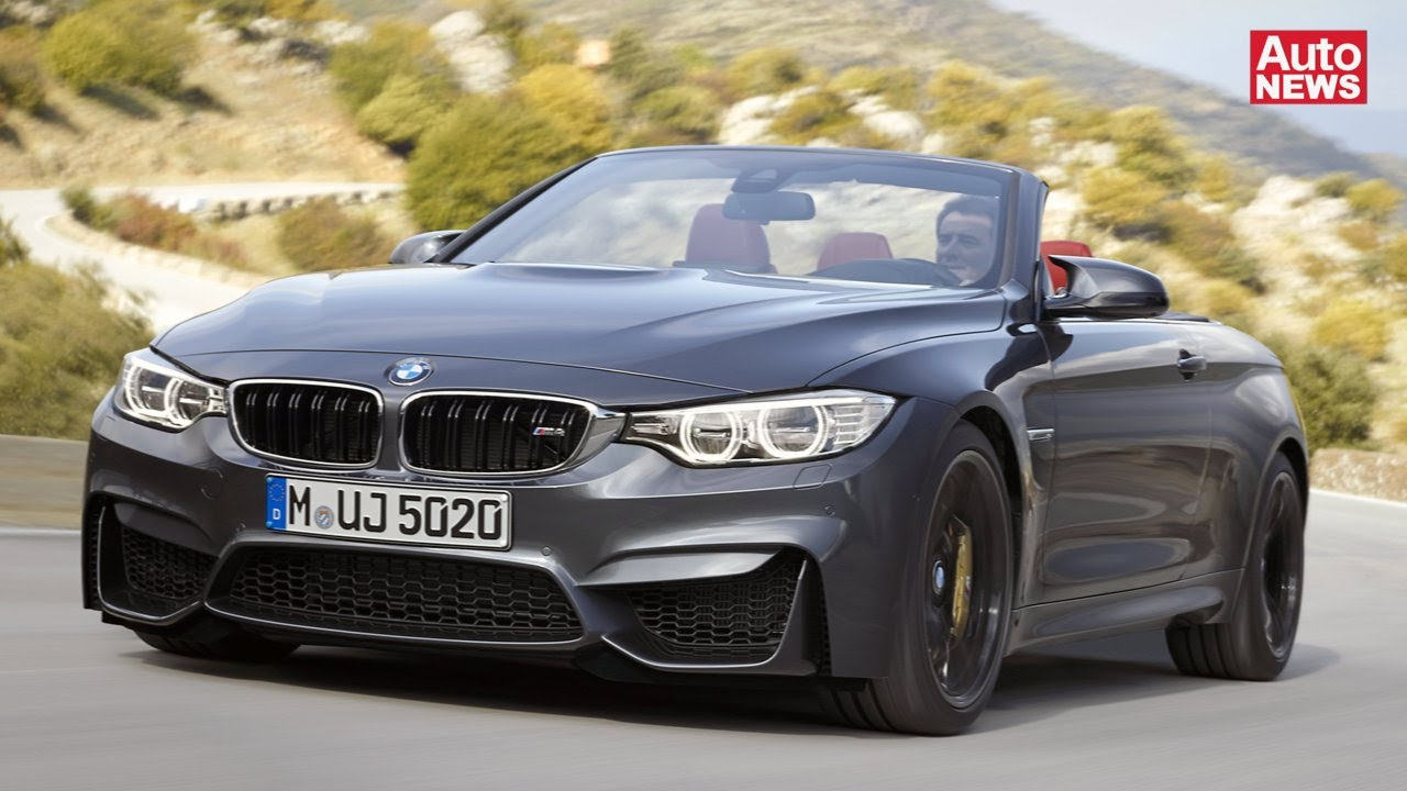 bmw m4 cabrio flotter aufschnitt mit 431 ps youtube. Black Bedroom Furniture Sets. Home Design Ideas