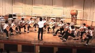 芝学園ギター部、2002年学園祭・本公演1日目。グループ合奏。 2002年9月...