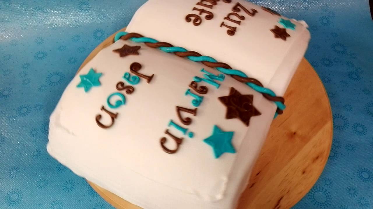 Buchtorte Zur Taufe Cake Taufe Anitfela S Cake Design Youtube