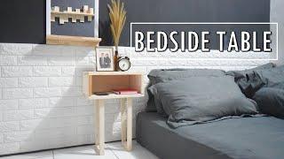 Diy Bedside Table - Meja Kamar Tidur Dari Kayu Palet