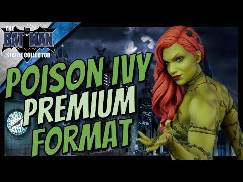 Preview: Poison Ivy Premium Format Statue From Sideshow Collectibles!