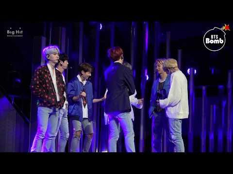 [ENG SUB] [BANGTAN BOMB] BTS standby time @ Mcountdown for DNA & MIC Drop comeback stage - BTS 방탄소년단