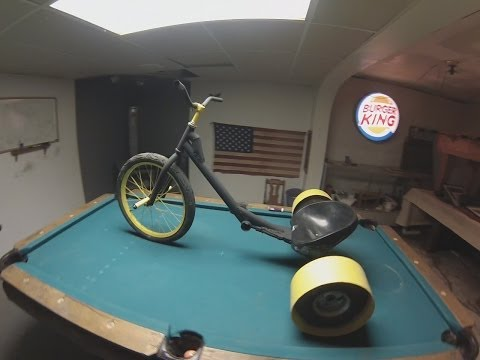 How To Build A Bolt-Together Drift Trike (No Welding)