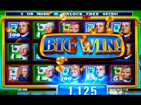 Money Rain Slot Machine $50 Max Bet Jackpot (Almost!) and Bonus Retrigger!  (2 videos)