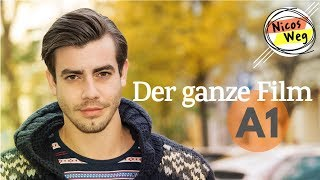 "Learn German (A1): whole movie in German - ""Nicos Weg"" 