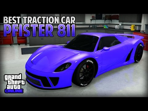 "GTA 5 Online - Best Traction Car Pfister 811 (Best Super Car) ""Finance and Felony DLC"""