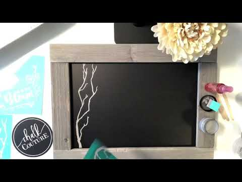 Be as Creative as you want using Chalk Couture Products