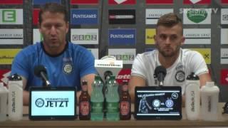 SK Sturm: Mediabriefing vor SV Ried (2. Runde 2016/17)