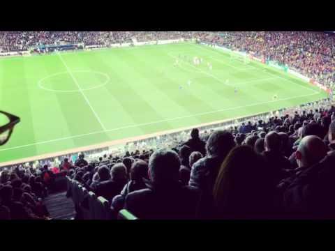 FCB 6 - 1 PSG - GOL SERGI ROBERTO LIVE CAMP NOU