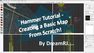 Hammer Editor Tutorial - Creating A Basic Portal 2 Map!