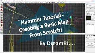 Hammer Editor Tutorial - Creating A Basic Portal 2 Map!