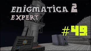 Minecraft 1.12.2 Enigmatica 2 Expert Mode Skyblock #49 Distillation Tower (Immersive Petroleum)