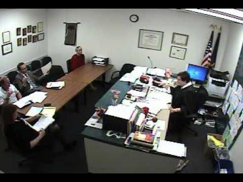 Hearing regarding Motion filed by Colleen Ronayne