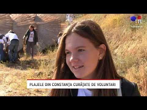 Plajele Din Constanța Curățate De Voluntari - Litoral TV