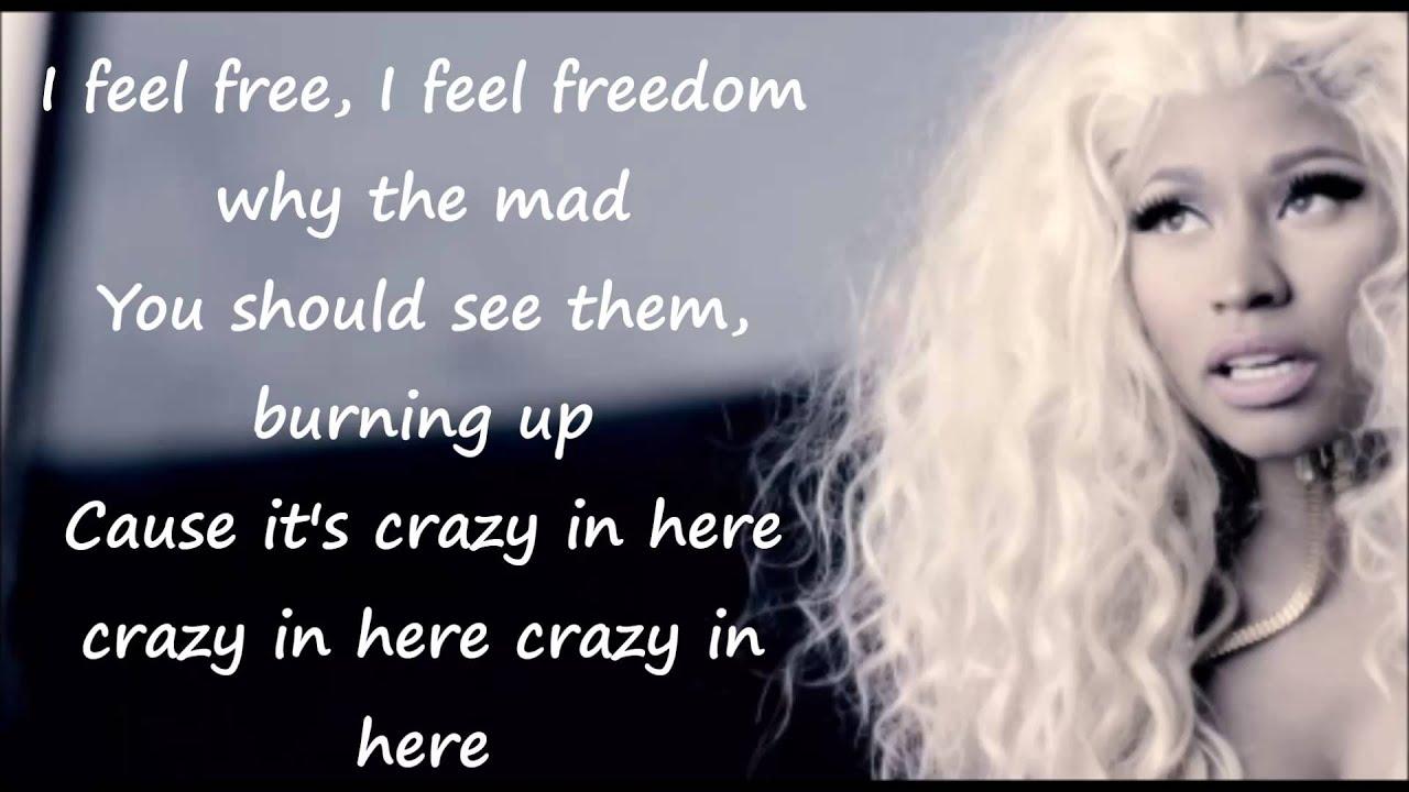 nicki minaj freedom lyrics