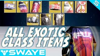 How to get Exotic (Cloak FWC) Class Items for all factions