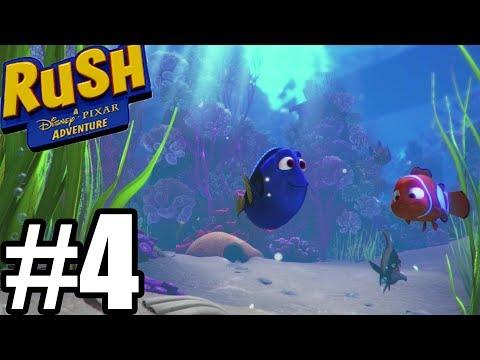 Rush a Disney Pixar Adventure Gameplay Walkthrough Part 4 - Dory/ Cars