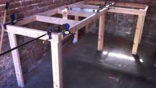 Building A Workbench (garage)