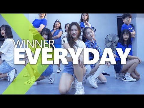EVERYDAY (REMIX) - WINNER (위너) / ISOL Choreography.