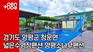 경기도 양평의 수영장과 계곡이 있는 펜션 ! 연인은 물…