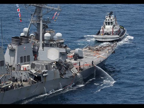 "USS Fitzgerald Collision, ""Missing"" Sailor on USS Shiloh"