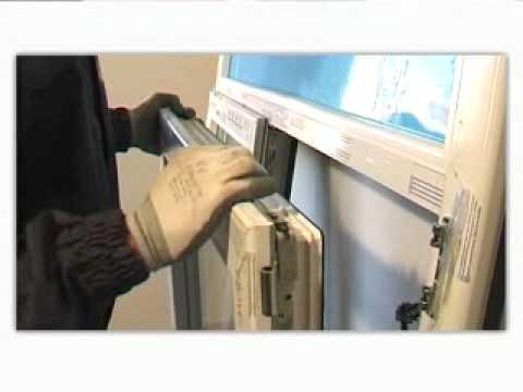 Instalacion ventana youtube for Marcos de pvc para ventanas
