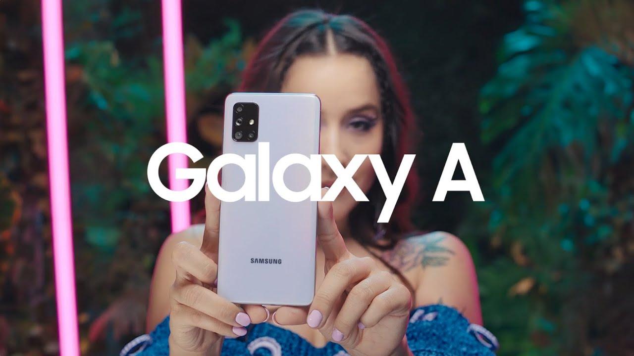 Samsung - Galaxy A, disfruta ¡MUCHO MÁS! - YouTube