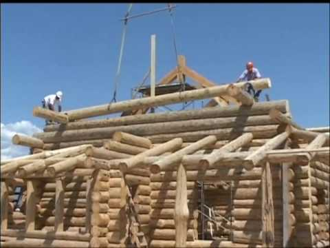 Brunarice Unilog Log Home Slovenia Chainsaw Master Doovi