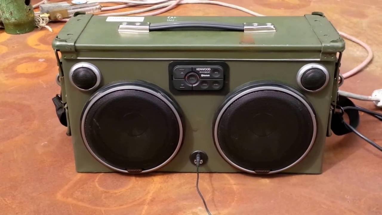 maxresdefault ammo can boombox mkii 2 youtube Ammo Can Cup Holder at nearapp.co